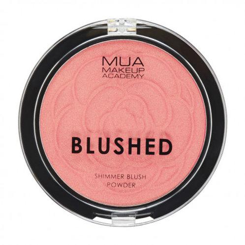 MUA Blushed Shimmer Powder - Pink Champagne
