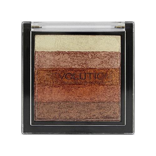 Revolution Vivid Shimmer Brick Rose Gold Mini Eyeshadow Palette
