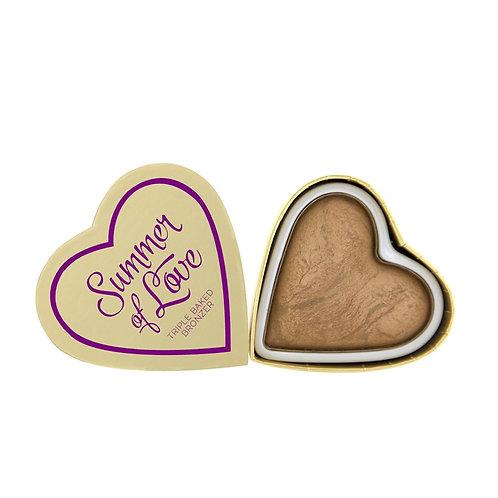 I Heart Revolution Blushing Hearts - Summer of Love Bronzer