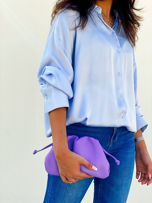 Allure Purple Mini Pouch Bag