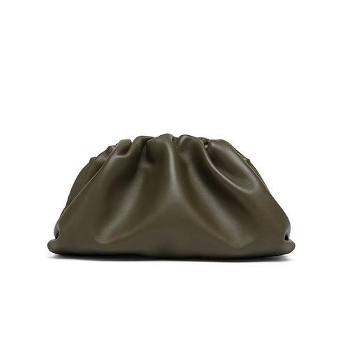 Allure Green Medium Pouch Bag