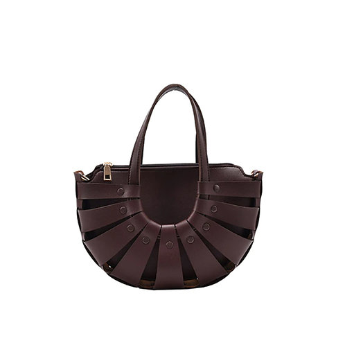 Allure Brown Shell Bag
