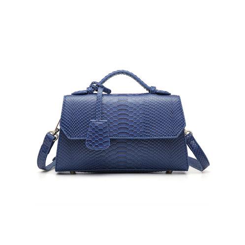 """Allure Blue """"Serpent"""" Handbag"""