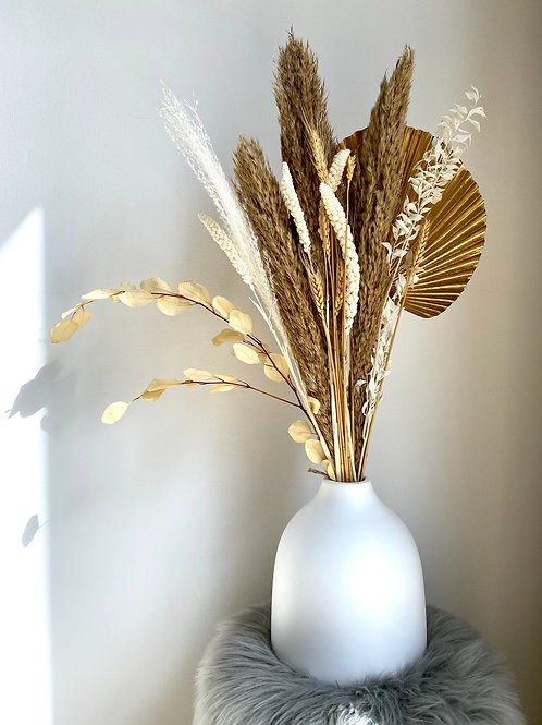 Pampas Grass Flower Arrangement