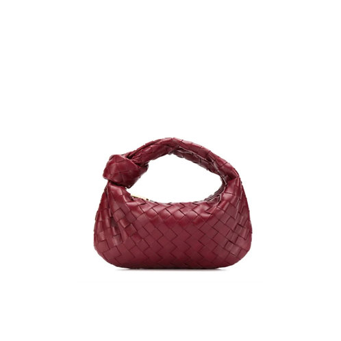Allure Maroon Knot Bag