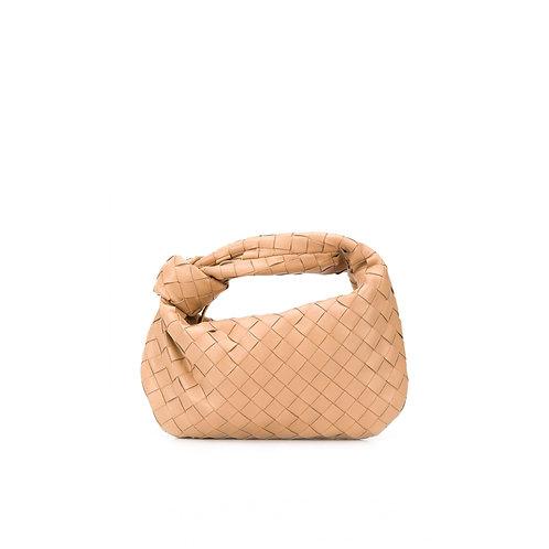 Allure Beige Knot Bag