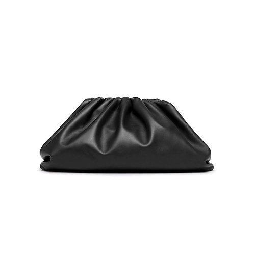 Allure Black Large Pouch Bag