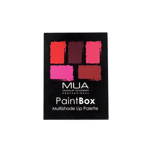 Paint Box Lip Palette Rose Rouge