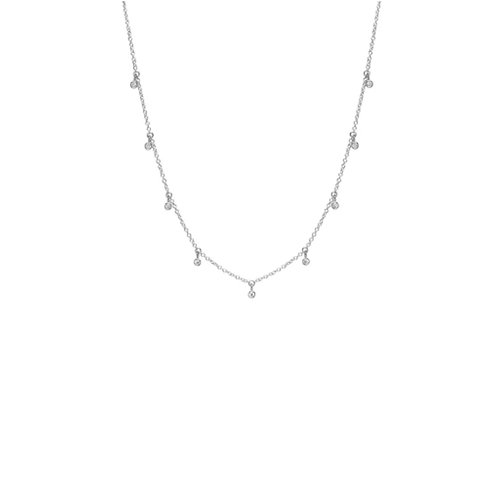 925 Sterling Silver Dangle Necklace