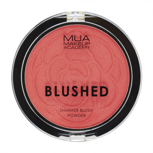 MUA Blushed Shimmer Powder - Peach Fizz