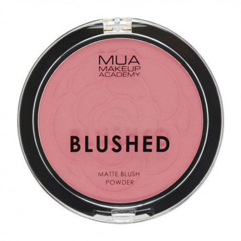 MUA Blushed Matte Powder - Rose Tea