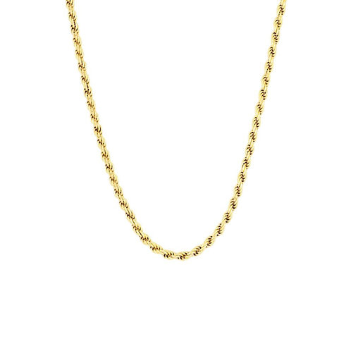 18K Gold Plated Rope Necklace