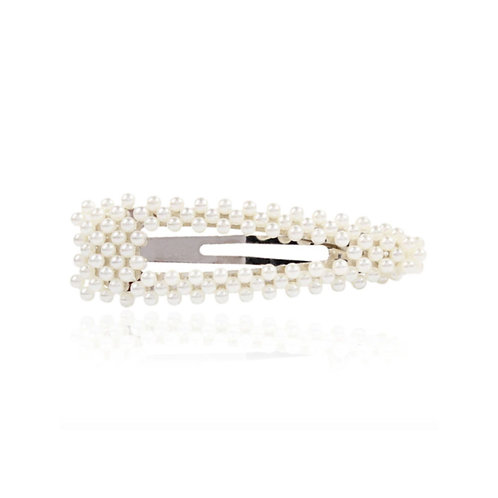 Milanetta Faux Pearl Cut Out Hair Clip