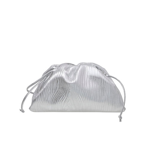 Allure Silver Mini Pouch Bag
