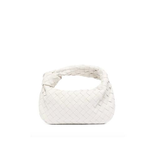 Allure White Knot Bag
