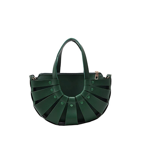 Allure Green Shell Bag