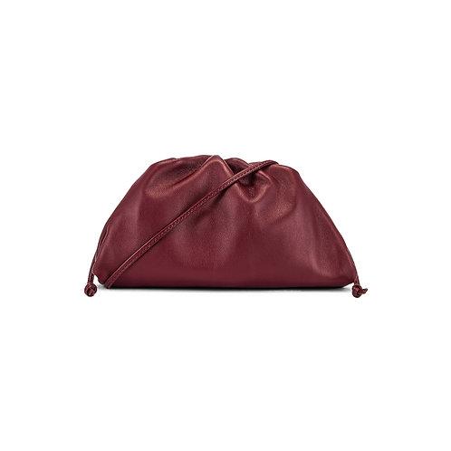 Allure Maroon Mini Pouch Bag