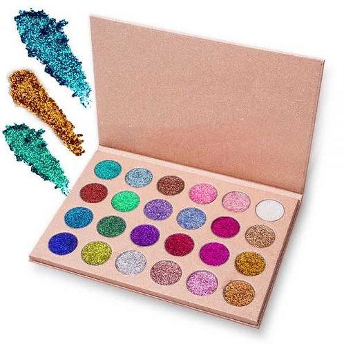 Milanetta Glitter 24 Shade Eyeshadow Palette