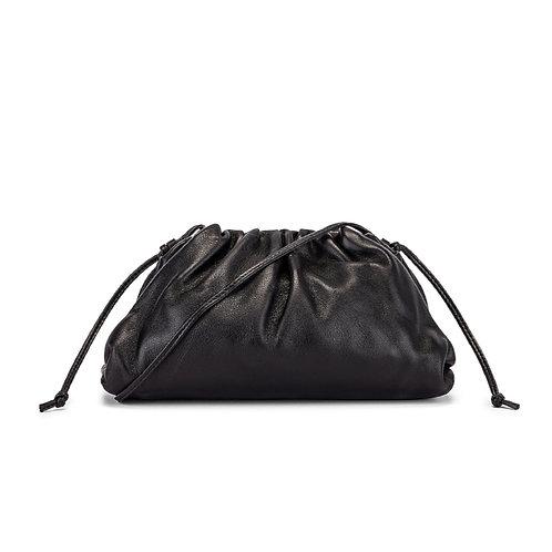 Allure Black Medium Pouch Bag