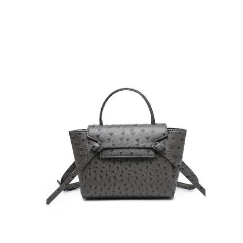 Allure Grey Ostrica Handbag