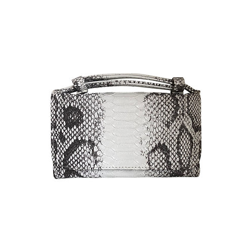 "Allure Snakeskin ""Serpent"" Wallet On Chain & Clutch Bag"