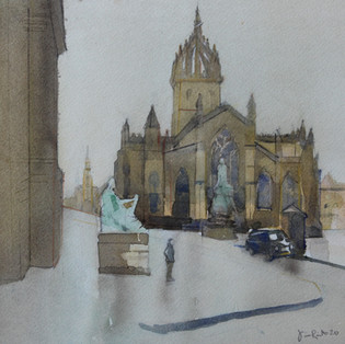 Saint Giles Cathedral 2020 SOLD