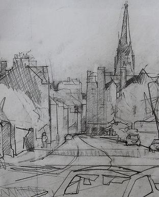 Towards the City, Bruntsfield.jpg