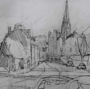 Towards the City, Bruntsfield 2020