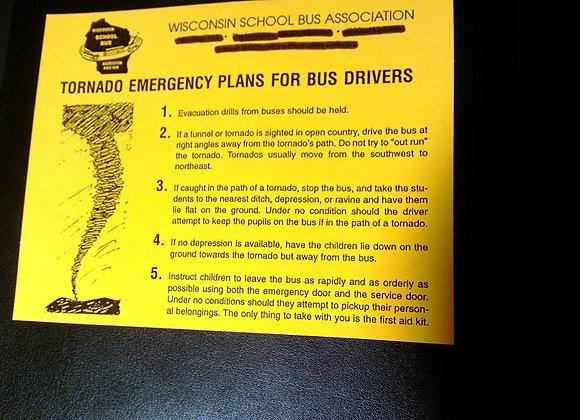 Tornado labels sold in packs of 12