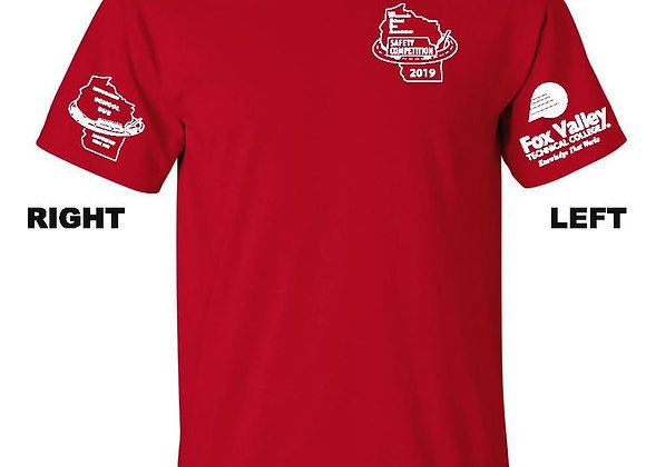 Safety Competition RED T-Shirt