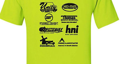 Safety Competition YELLOW T-Shirt