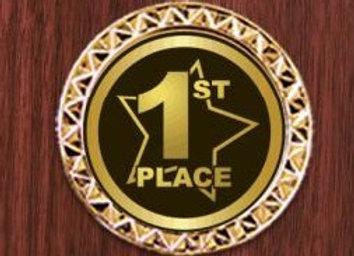 1st Place Award Plaque