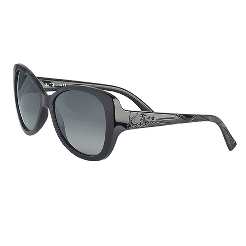Style: Atomik Blonde Aphotic™ Steel Polarised med-lge