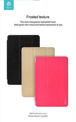 "Devia iPad Air 4 10.9"" Light Grace Case, Rose Red"