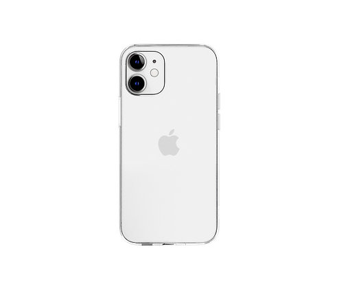 "SwitchEasy iPhone 12 mini 5.4"" Crush PC+TPU Case, Transparent"