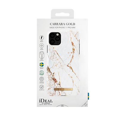 iDeal Of Sweden Fashion Case 2019 iPhone 11 Pro Max, Carrara Gold