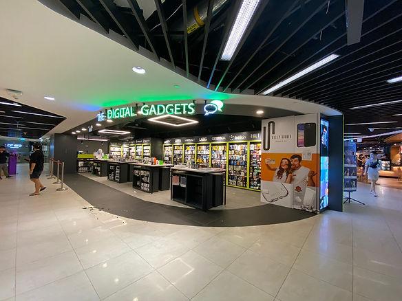The Digital Gadgets At Hillion Mall