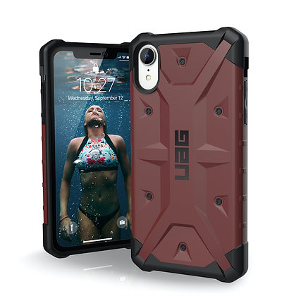 UAG iPhone XR Pathfinder Case, Carmine