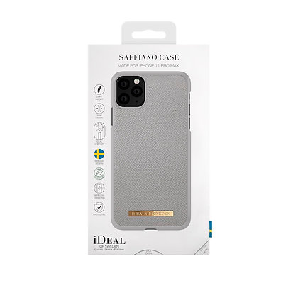 iDeal Of Sweden Fashion Case Saffiano iPhone 11 Pro Max, Light Grey