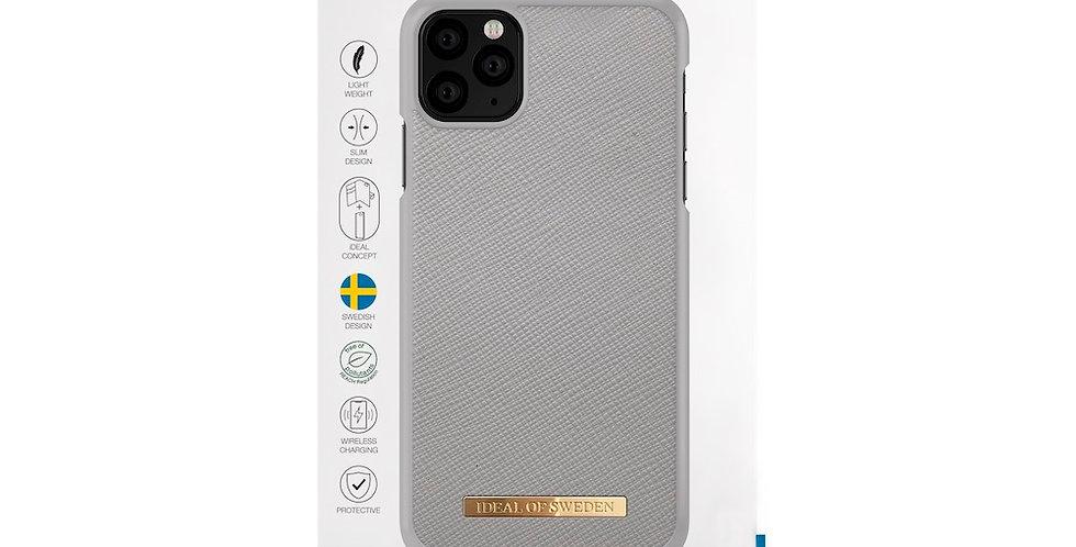 iDeal Of Sweden 11 Pro Max Fashion Saffiano, Light Grey