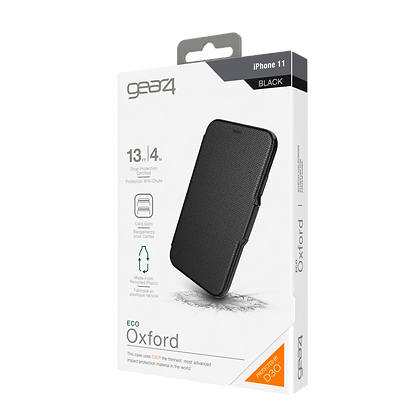 Gear4 Oxford iPhone 11 Case, Black