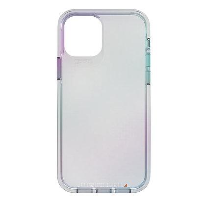 "Gear4 iPhone 12 / iPhone 12 Pro 6.1"" D3O Crystal Palace, Iridescent"