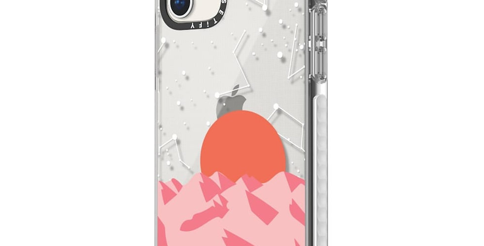 Casetify Impact Case iPhone 11, Frost Palm Springs Sunset