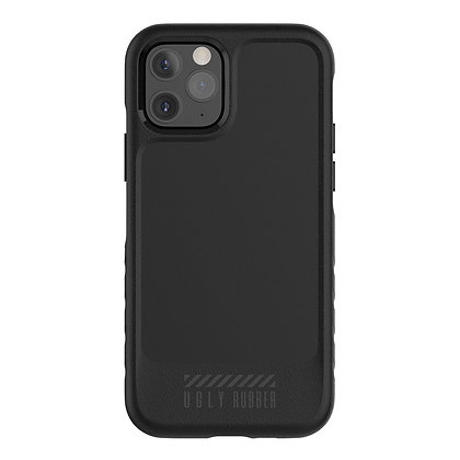 "Ugly Rubber iPhone 12/12 Pro 6.1"" L-Model, Black"