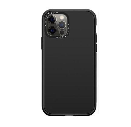 "Casetify iPhone 12 / iPhone 12 Pro 6.1"" DTLA Case, Black"