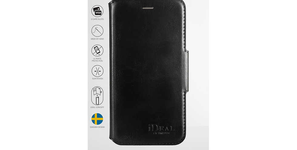 iDeal Of Sweden 8/7/6/6s Plus London Wallet Case, Black