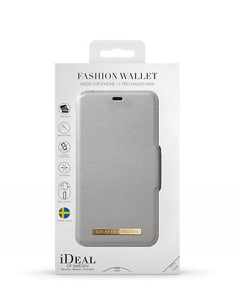 iDeal Of Sweden Fashion Wallet iPhone 11 Pro Max, Light Grey