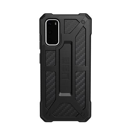 "UAG Samsung Galaxy S20 6.2"" Monarch Case, Carbon Fiber"