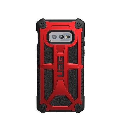 UAG Samsung Galaxy S10e Plasma Case, Magma (Red Transparent)