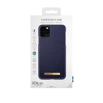 iDeal Of Sweden Fashion Case Saffiano iPhone 11 Pro Max, Navy